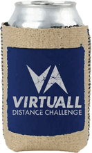 Load image into Gallery viewer, VirtuALL Burlap Pocket Koozie