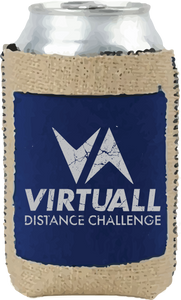 VirtuALL Burlap Pocket Koozie