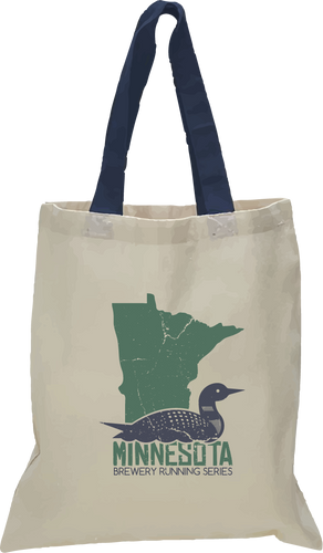 MN Loon - Minnesota Brewery Running Series - Tote Bag