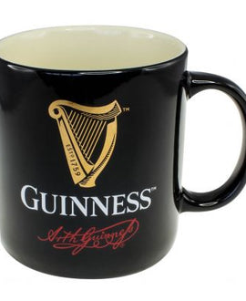 Guinness Contemporary Mug, Black