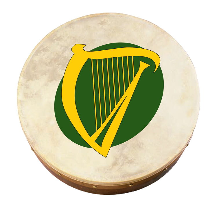 Harp Bodhran (Irish Drum)