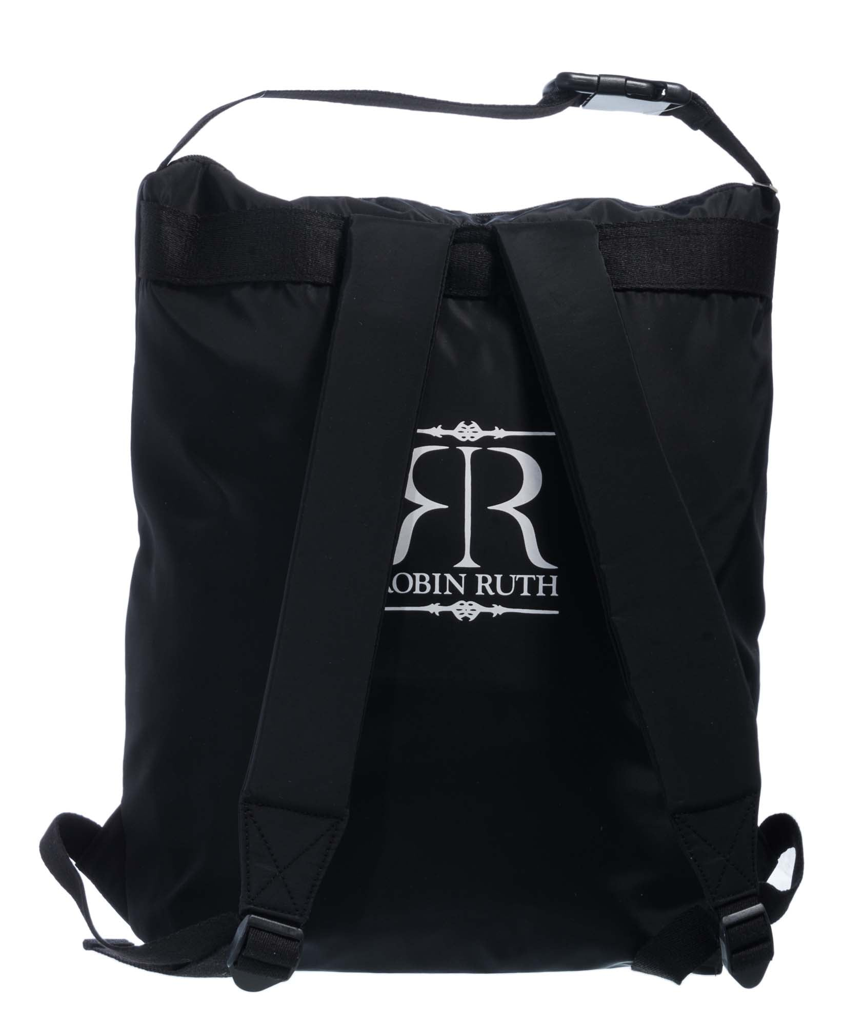 Ireland Sports bag, backpack, black/white Ireland logo