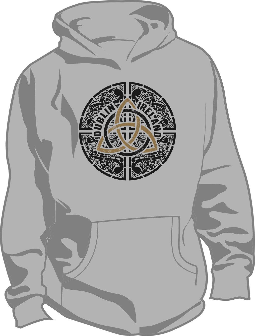 Celtic Knot Hooded Sweatshirt