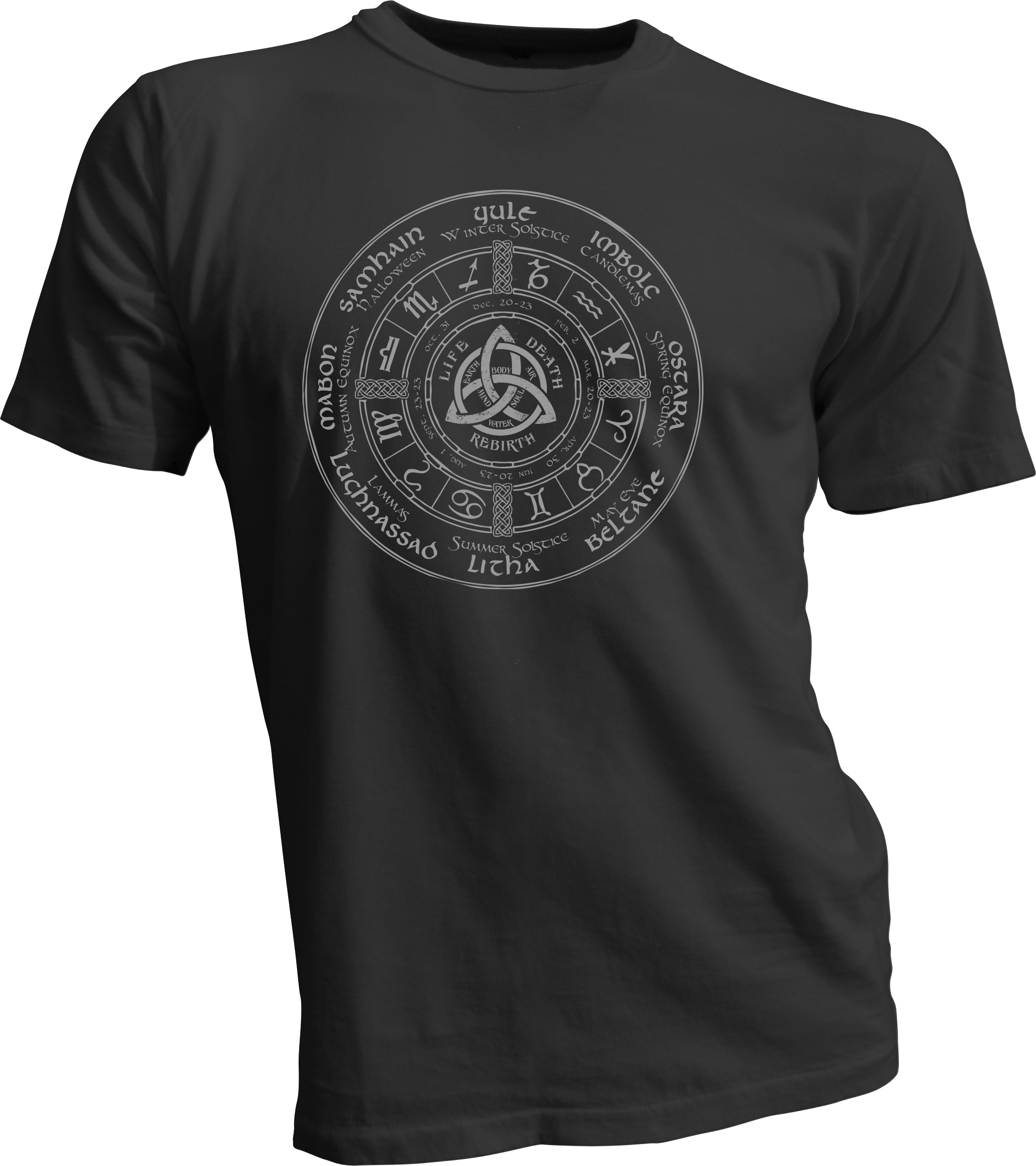 Celtic Wheel of the Year T
