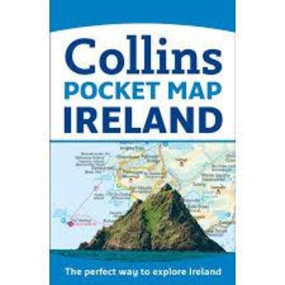 Collins Pocket Map of Ireland