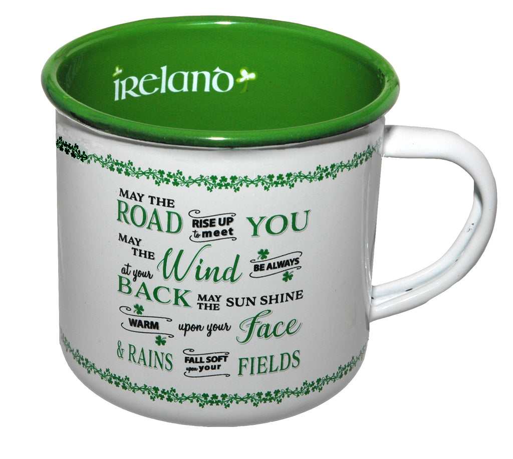 Enamel Mug - May the Road