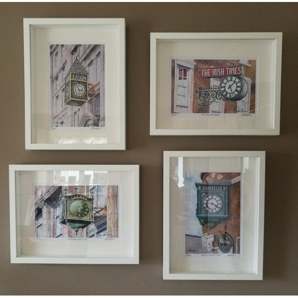 Dublin Clocks - set of four