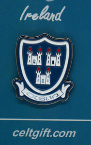 Dublin Coat of Arms Lapel Pin