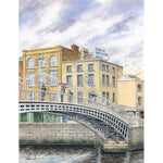 Ha'penny Bridge and Dublin Woollen Mills