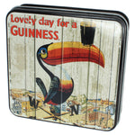 Guinness Gift Tin of Fudge, Toucan design