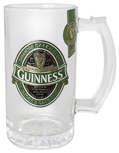 Guinness Ireland Tankard with Metal Badge