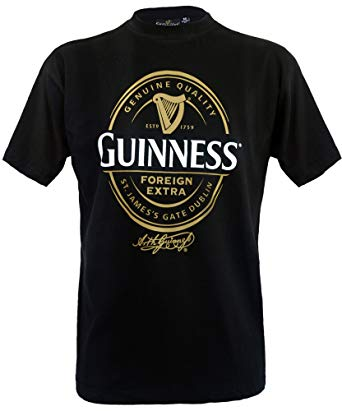 Guinness Black Foreign Extra T Shirt