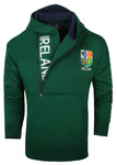 Ireland Half Zip Hoody, Green