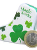 Amazing Socks, Shamrock, compressed