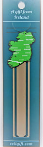Ireland Map Bookmark