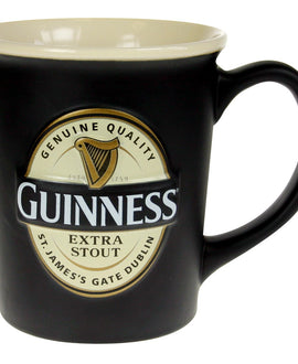 Guinness Label Large Mug, Black