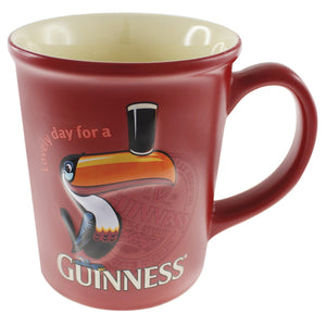 Guinness Large Toucan Mug, Red
