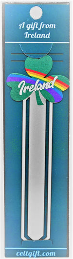 Shamrock and Rainbow Bookmark