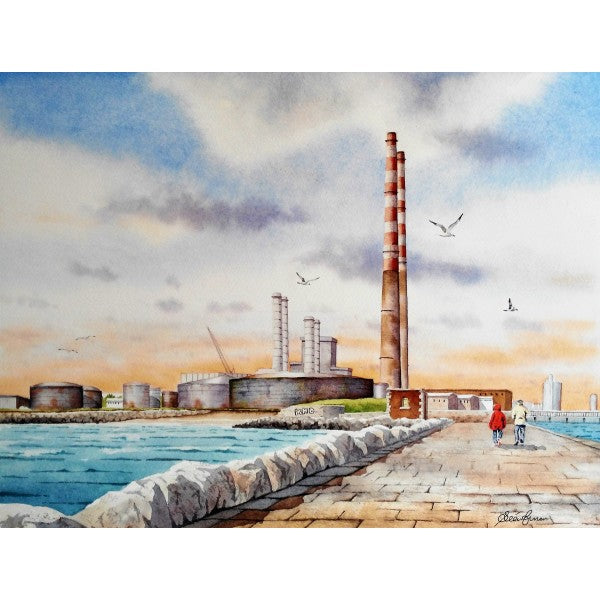 Poolbeg Chimneys / The Pigeon House