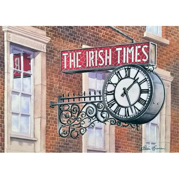 Irish Times Clock, the Times may change