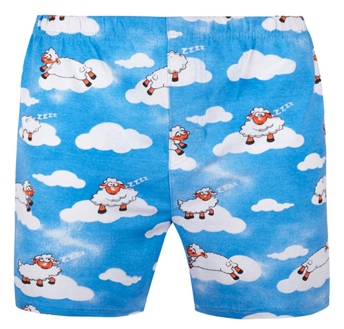 Amazing Mens Boxer Shorts, Sheep, compressed