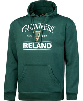 Guinness Green Ireland Harp Hooded Sweatshirt