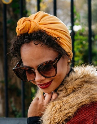 """La Clasica"" - A Ready-to-Wear Headwrap Turban"