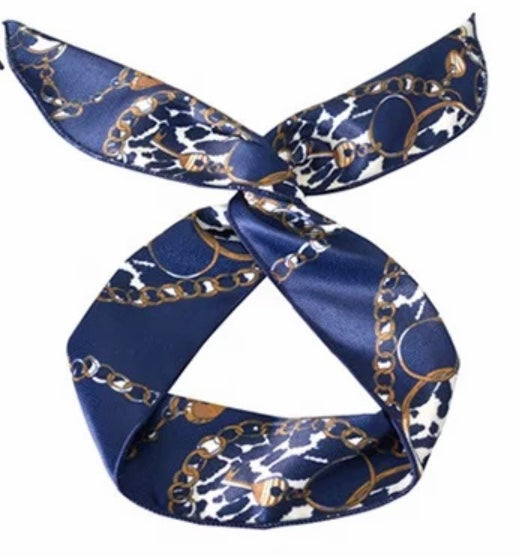 """Young Hare"" Silk Wired Headband Collection"
