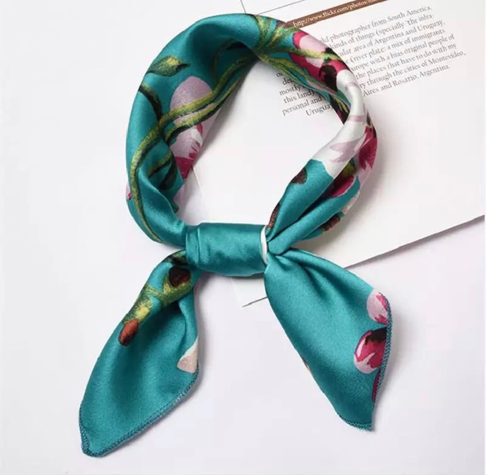 Summer Uptown Vibes Collection - Silk Scarves