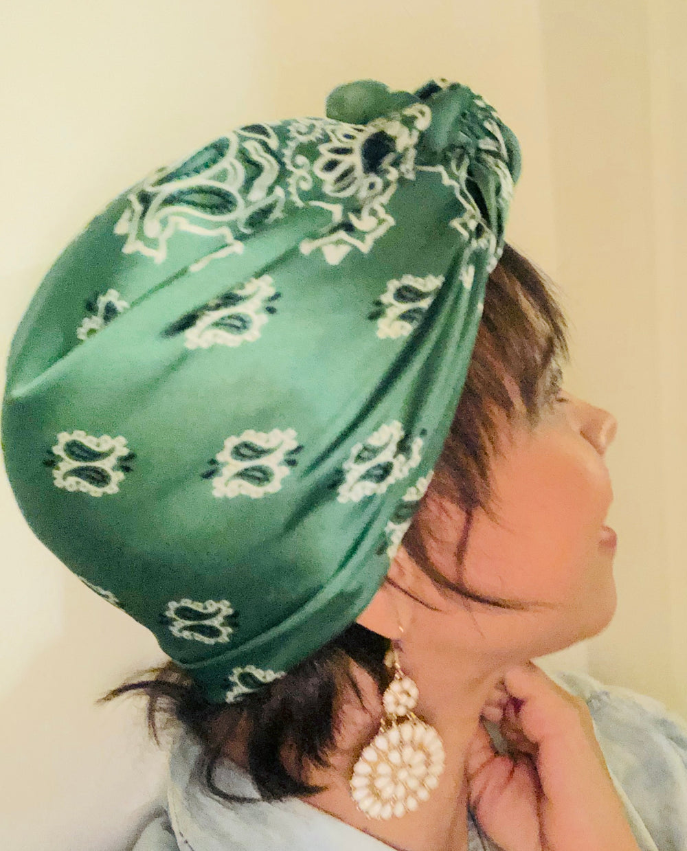 For the Culture - Silk Head Scarf