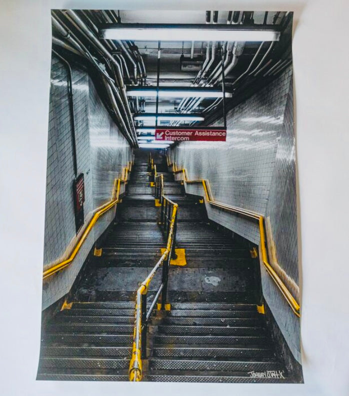 "Johnny Utah ""The Factory"" Print Collection 