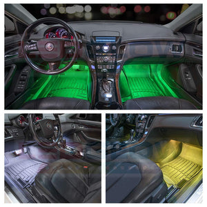 Multi-Color LED Car Interior  Lighting Kit