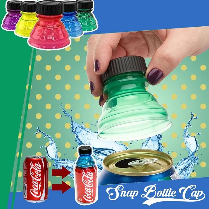 Soda Saver Snap Bottle Cap