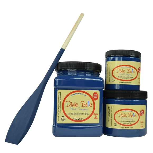 Bunker Hill Blue Chalk Mineral Paint - Fresh at Home