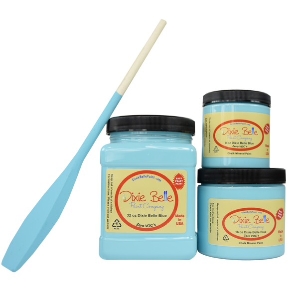 Dixie Belle Blue Chalk Mineral Paint - Fresh at Home