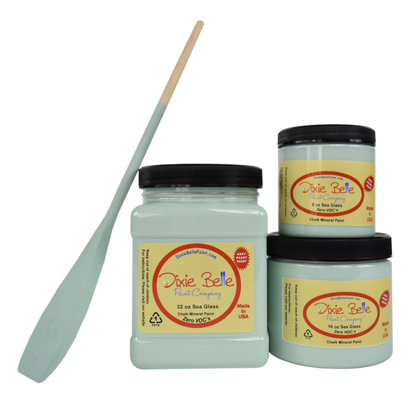 Sea Glass Chalk Mineral Paint - Fresh at Home
