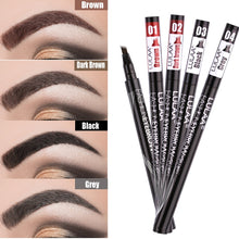 Load image into Gallery viewer, Waterproof Natural 4-Claw Eyebrow Pen