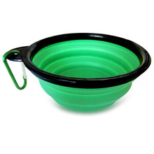 Load image into Gallery viewer, Portable Collapsible Dog Bowl