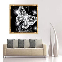 2019 Moderne Kunststile Dromerig 5d Diamond Painting /Diamant Malerei Stickerei Schmetterling Set Bestees Gift VM90210