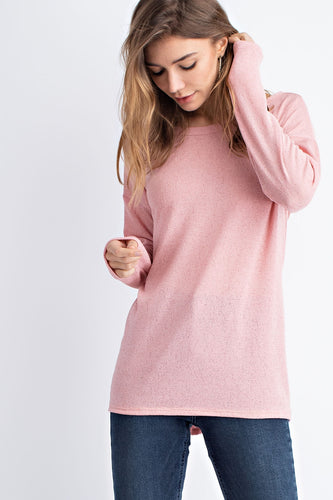 Eva Basic Shoulder Notch Longsleeve