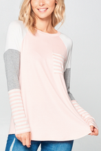 Load image into Gallery viewer, Mila Color Block Longsleeve
