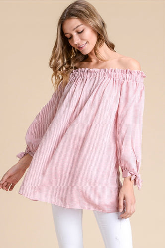Ally Off the Shoulder Longsleeve