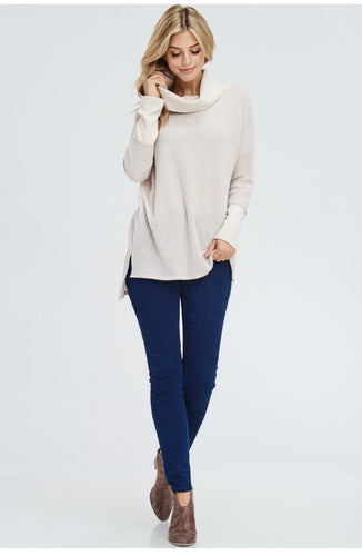 Dana Oversized Cowneck Sweater