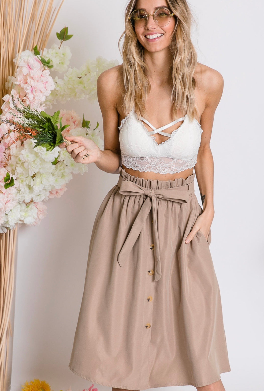 Bria Bow Tie Skirt