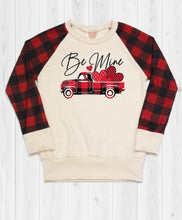 Load image into Gallery viewer, Brianna Plaid Vday Sweatshirt
