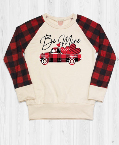 Brianna Plaid Vday Sweatshirt