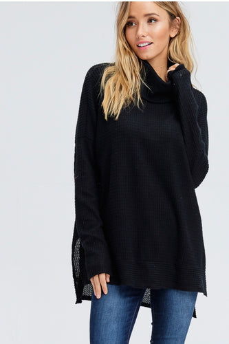Amanda Oversized Cowneck Sweater