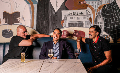 Real Talk with Chris Mark and Syed Asim Hussain of Black Sheep Restaurants