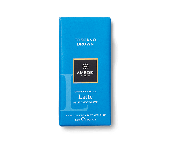 Amedei Amedei Latte Chocolate Bar Toscano Brown | METAGROUP Limited