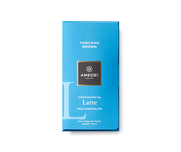 Amedei Latte Chocolate Bar Toscano Brown